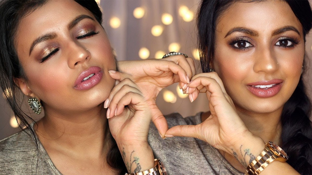 Valentine's Day Makeup Tutorial featuring MeeraMemeP + Discount Code from Sally Beauty Supply